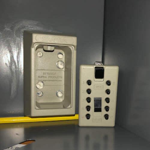 MILKBOX_S5EPO,coffre à clés à code - boîte à clés murale