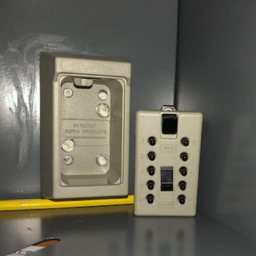 MILKBOX_S5KLEB,boîte à clés à code - boîte à clés sécurisée