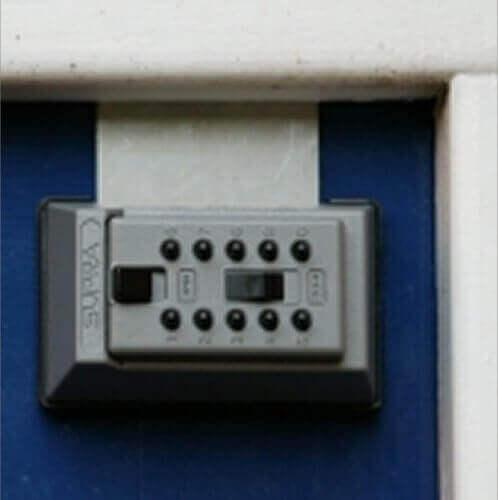 SUPRAJ5,boîte à clés à code - coffre à clés mural