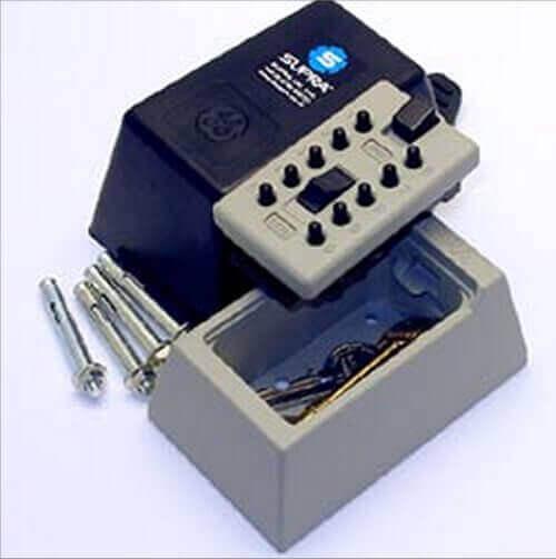 SUPRAS5 - boîte à clés sécurisée - coffre à clés mural